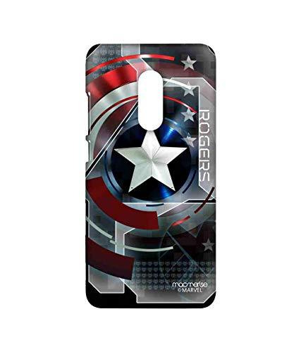 Macmerise Metallic Captain America Printed Back Cover for Xiaomi Redmi Note 4
