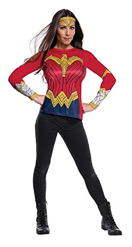 Rubies Justice League Womens Wonder Woman Costume Top ()