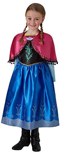 Rubie's 3630033 - Anna Frozen Deluxe, Action Dress Ups und Zubehör, S