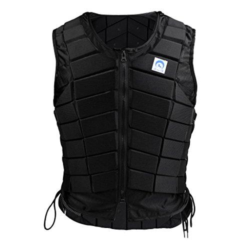 Sharplace Veste Équestre Latéral Zippé Protecteur Gilet Équitation Confortable Costume...