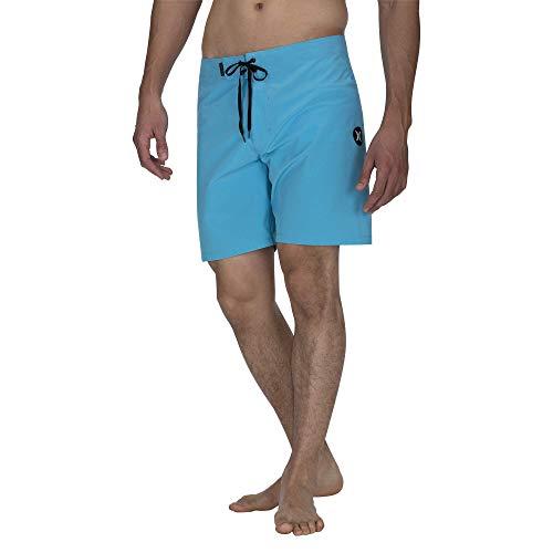 Hurley Herren M Phantom ONE und ONLY 18' Shorts, Photo Blue, 33 -