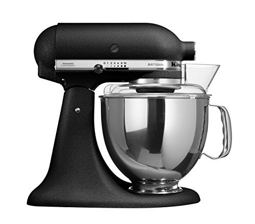 kitchenaid 5ksm150psebk robot culinaire castiron noir hi