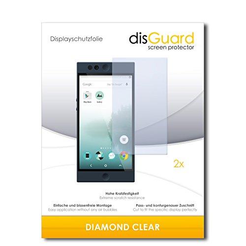 2 x disGuard® Bildschirmschutzfolie Nextbit Robin Schutzfolie Folie