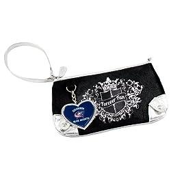 NHL Columbus Blue Jackets Sport Luxe Fan Wristlet