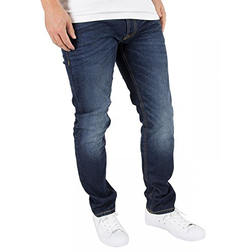 Jack & Jones Herren Tim Original 011 CR Jeans, Blau, 30W x 32L