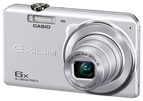 CASIO Digitalkamera EXILIM EX-ZS29SR Weitwinkel 26mm optische sextuple Zoomobjektiv Premium automatische 16,100,000 Bildelemente Silber