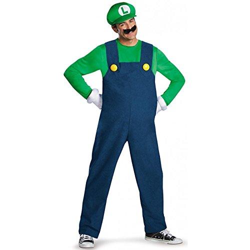 Generique - Kostüm Luigi für Erwachsene hochwertig L