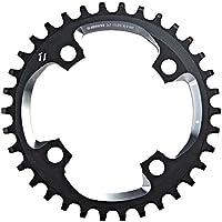 SRAM 100088, X01-X01DH-X1, 34 Dientes, 94 BCD, 11v, Negro y Plata, M