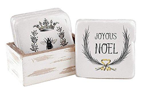 Vintage Style Home Decor (Urlaub Sprüche Vintage Style Home Decor Coasters with Box)