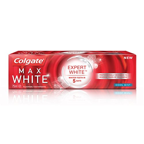Colgate - Dentifrice Expert White Cool Mint - Le tube de 75 ml - (for multi-item order extra postage cost will be reimbursed)