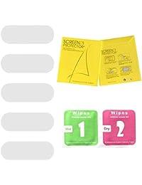 Oddity Protectores de Pantalla para Xiaomi Mi Band 4 - Protectores de Pantalla para smartwatch Película de Vidrio Templado Anti-Scratch Bubble Free - 5 PCS