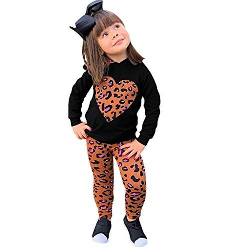 DIASTR Kinder Langarm Halloween Kostüm Top Set Baby Kleidung Set Kleinkind Kostüm Outfits Engel Teufel Hexe Kleid Mesh Kleid Prinzessin Kleid + Hut + Kürbis Tasche (2-15y) (Engel Teufel Baby Kostüm)