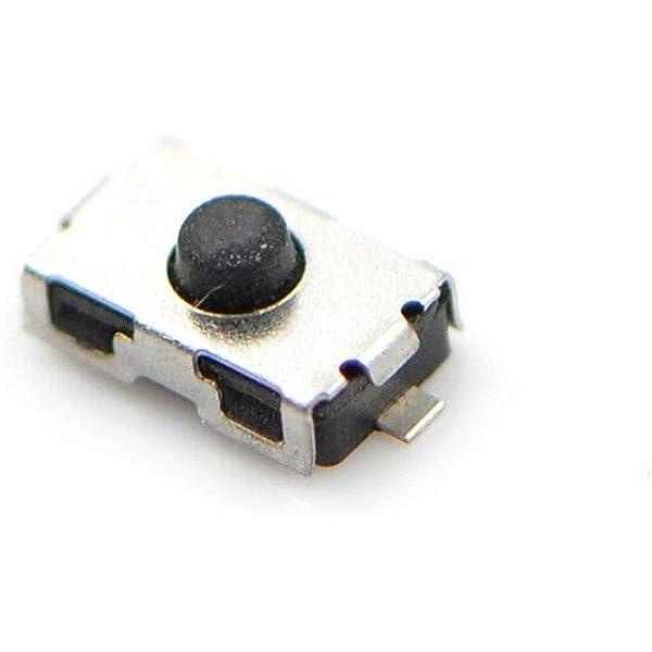 Myshopx 10 Stück Microtaster Mikro Schalter Drucktaster Microschalter 6 X 3 6 X 2 5 Mm Mfernbedienung Schlüssel Taster Micro Smd Mp08s Auto