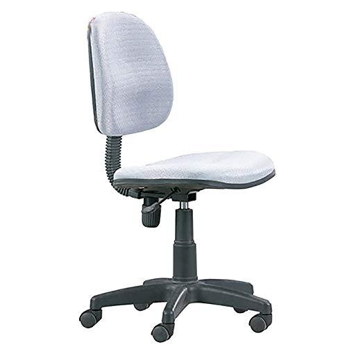 Bürodrehstuhl, Computerstuhl aus Stoff, Bürostuhl zum Heben, Schreibstühle für Studienschlafzimmer, Rückenlehnensitz für Studenten, Frühstücksstuhl, Bürodrehstuhl für kleine Bar, Grau Arbeitsstuhl