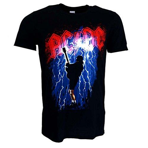 AC/DC Thunderstruck Maglietta Nero Ufficiale autorizzato Musica
