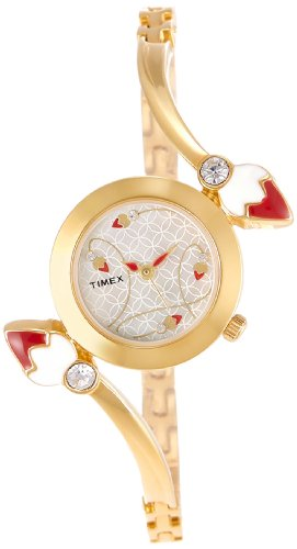 Timex Bangle Analog Silver Dial Women's Watch - TI000N80500 image