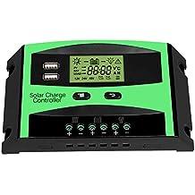 REALFORU  Upgrated 30 A, régulateur de Charge Solaire Panneau Solaire  Régulateur de Batterie Intelligent e36744051efa