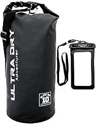 Premium wasserdichte Tasche, Sack, wasserdichter Handybeutel und langer, verstellbarer Schultergurt inklusive, geeignet zum Kajak-, Boot-, Kanufahren/Angeln/Rafting/Schwimmen/Camping/Snowboarden