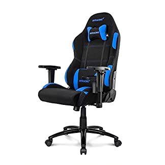 AKRacing Core Series EX: silla de gaming amplia negro/rojo