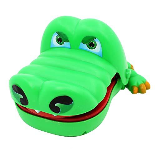 Lodenlli Große Krokodil Mund Zahnarzt Biss Finger Spielzeug Lustige Spiel Witz Neuheit Antistress Spielzeug für Kinder Kinder Familie Streich Spielzeug Geschenk