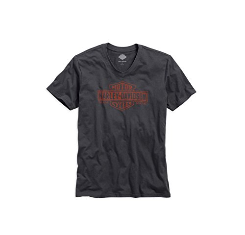 harley-davidson-trademark-logo-v-neck-tee-99042-16vm-herren-shirt-grau-xxxl