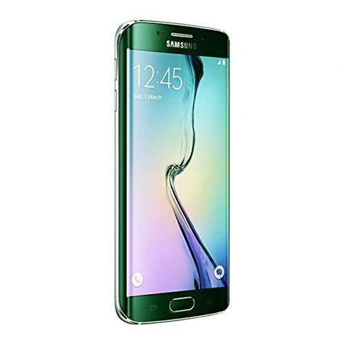 Saflyse Pellicola protettiva anteriore 3D, colorata, in vetro temperato, per Samsung S6Edge White Blue