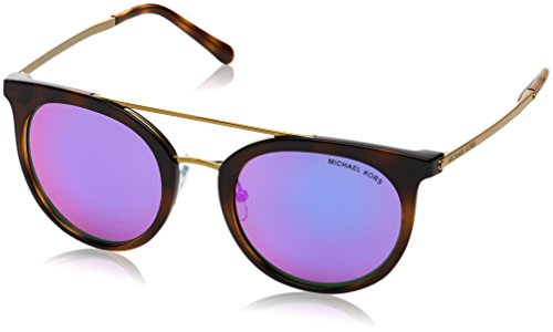 Michael Kors Damen ILA 32704X 50 Sonnenbrille, Dark Tort/Fuschiamirror, 50