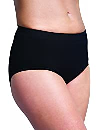Carriwell Seamless Post Birth Shapewear Pants (Large, Black)