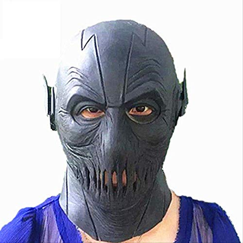 The Flash Lightning Maske Headgear Helm Halloween Zoom Maske Headgear Props Cos Superhero Für Männer Seltsames Spielzeug