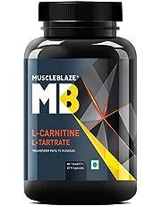 MuscleBlaze L-Carnitine L-Tartrate 60 capsules Unflavoured