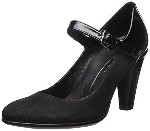 Ecco Shape 75 Round Elegant, Escarpins Femme Noir (Black/black)