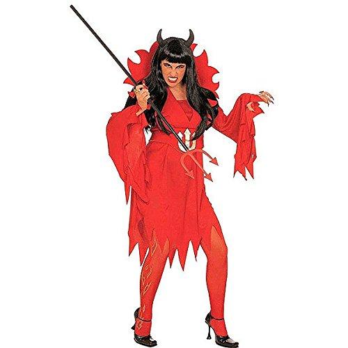 Damen Karnevalskostüm Teufelin, Größe XL, (Minute Halloween Last Schnelle Kostüme)