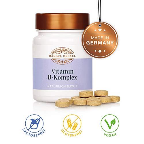BÄRBEL DREXEL Vitamin B-Komplex Kapseln (92 Stk) 100{af4ff8eec73c7b101359fce3a1139eff66749d799af0a89fad8b6e0b120c9b58} Vegane Herstellung Deutschland Vitamin B1 B6 B12