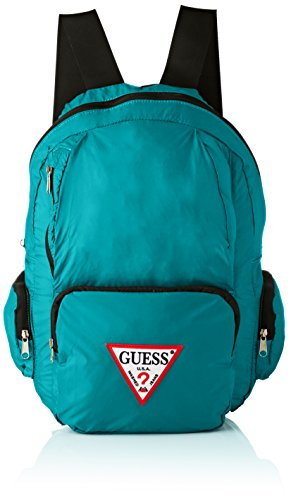 GUESS - Bags Backpack, Mochilas Hombre, Turquesa (Turquoise), 18x44x28 cm (W x H L)