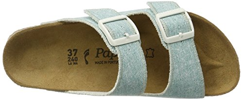 AP Arizona Birko-Flor, Ciabatte Donna Blau (Beach Light Blue)