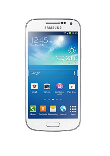 Samsung Galaxy S4 mini Smartphone (10,9 cm (4,3 Zoll) AMOLED-Touchscreen, 8GB interner Speicher, 8 Megapixel Kamera, LTE, NFC, Android 4.2) weiß [EU-Version] Samsung 8 Gb Mp3