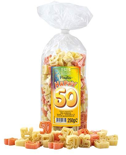 """Geburtstags-Nudeln """"Pasta Happy 50"""""""