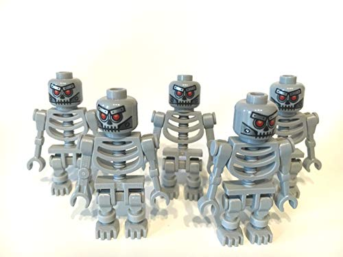 LEGO ® 5 graue Skelette aus The Movie ( Robo Skeleton )