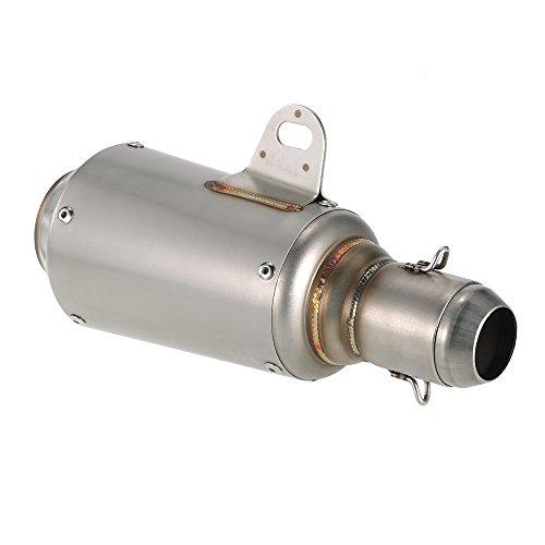 KKmoon - Tubo de Escape Silencioso, de 51 mm de Di¨¢metro, con...