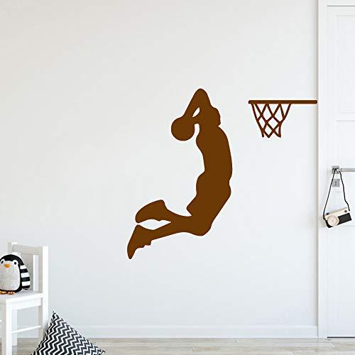 Ajcwhml Exquisite Basketball Cartoon Wand Applique wandkunst Poster abnehmbare Vinyl wandbild tapete Wohnzimmer kinderzimmer 30 cm X 33 cm