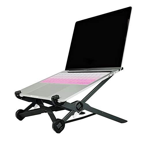SSRSHDZW Computerständer Kreativer Laptopständer Klappbar Einstellbar Richtige Haltung Schützen Sie die Wirbelsäule Lendenwirbelsäule Stabil