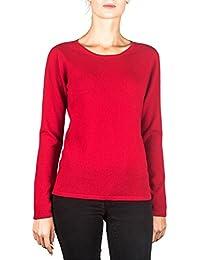 CH 100% Kaschmir Damen Pullover   Sweater Rundhalsausschnitt 2-Fädig eca7bbef0f