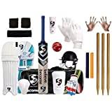 SG Full Cricket Kit with Bag with Stumps