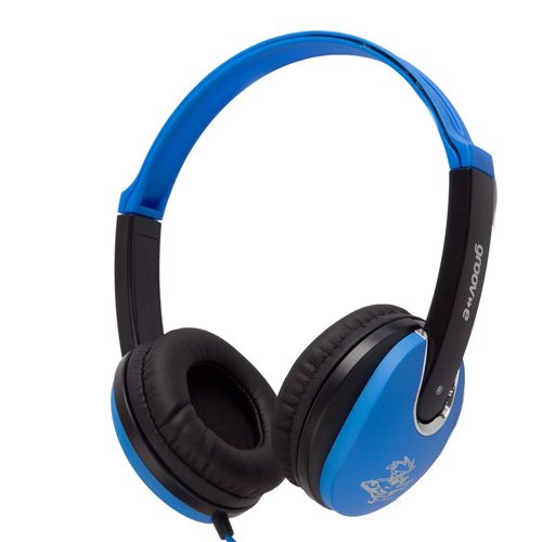 Groov-e Kidz, Kids Headphones, DJ Style, Blue Test