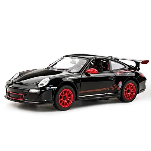 , 1/14 Porsche 911 GT3 RS RC Drift Car Offiziell Lizenziert Modell, Elektrische Spielzeug Fahrzeug Sports Rennwagen Geschenke für Kinder Jungen Mädchen und Erwachsene - Schwarz ()