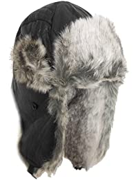 Brubaker chapka de cuir artificiel chapeau de fourrure