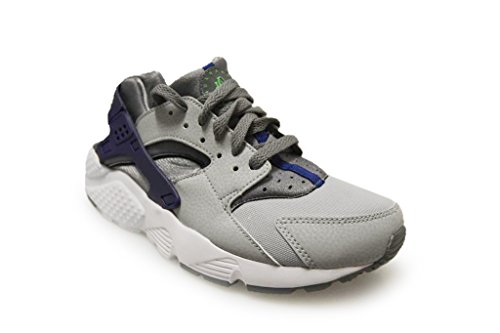 low priced 8bc75 95917 Nike Kinder und Jugendliche Huarache Run Gs Sneakers Grau / Grün (Cl Gry /  Grn ...