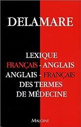 Petit lexique anglais/français des termes de médecine