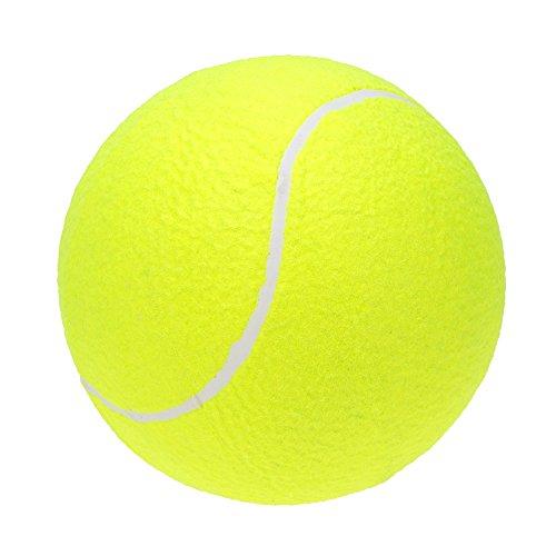 Lixada 9,5 pollici gigante palla da Tennis per i grandi animali cane giocattoli Outdoor sport spiaggia