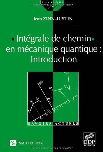 Intégrale de chemin en mécanique quantique : Introduction